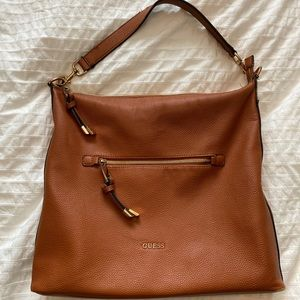 Leather Guess Hobo Bag